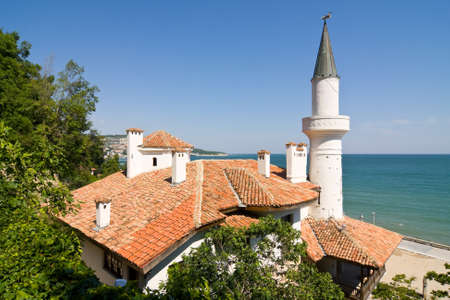 balchik: Residence of the Romanian queen by the black sea in Balchik, Bulgaria
