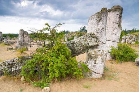peculiarities: Phenomenon rock formations in Bulgaria around Beloslav - Pobiti kaman