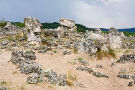 현상: Phenomenon rock formations in Bulgaria around Beloslav - Pobiti kaman