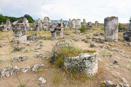 peculiarities: Phenomenon rock formations in Bulgaria around Beloslav - Pobiti kaman