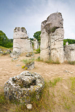unusually: Phenomenon rock formations in Bulgaria around Beloslav - Pobiti kaman