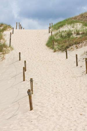 despacio: Camino en Dune Czolpinska, B?ltico