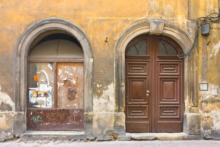 old gates in Krakow, Poland photo