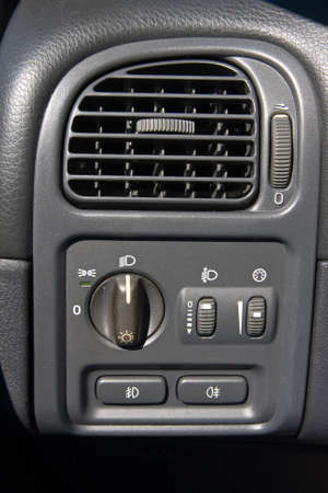 Air conditioner in the car  photo