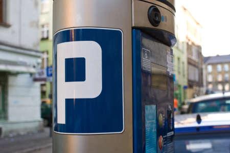 parking facilities: billete de m�quina exterior