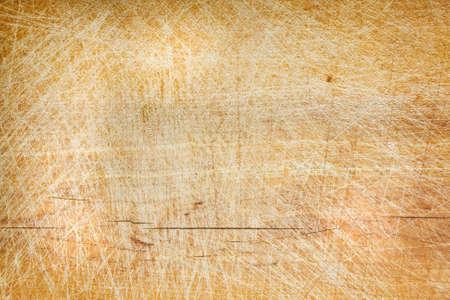 Old grunge wooden cutting kitchen desk board background texture  photo