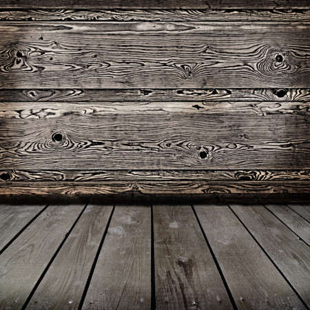 old wooden interior  Ready for product montage display   Stock Photo - 22671126