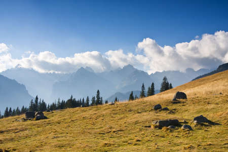 mountain landscape, Tatry, Poland  photo