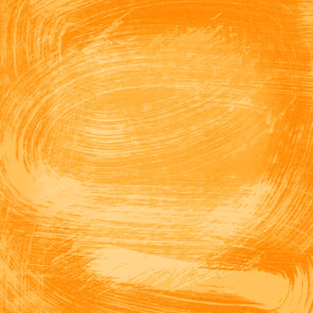 Orange abstract watercolor texture  photo