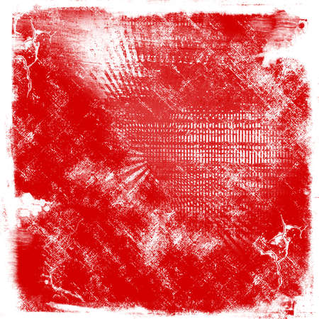 crosshatched: Detailed red grunge texture or background