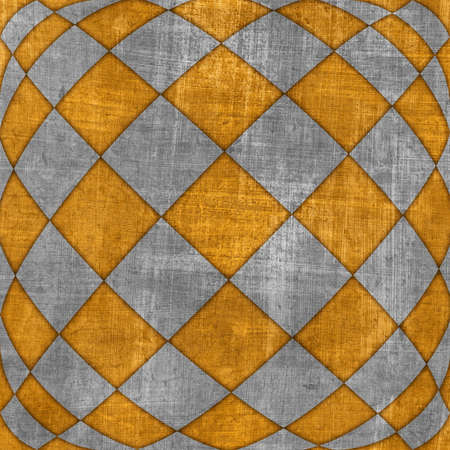 Checkered texture 3d background. photo