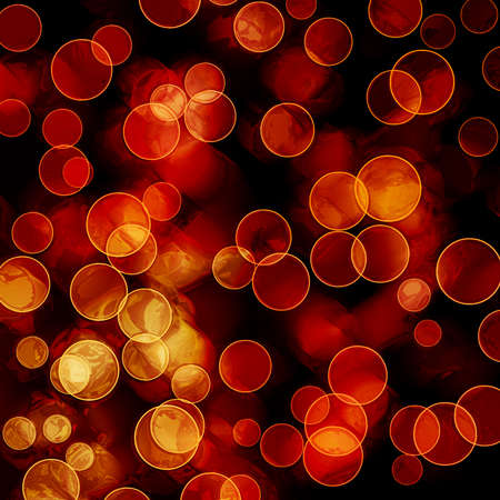bright colorful circles with bokeh background  photo