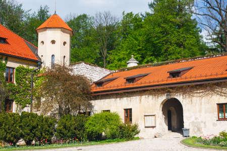 jura: Castle Pieskowa Skala in National Ojcow Park, Poland
