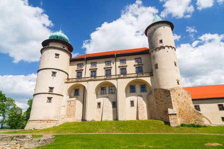 malone: View of Nowy Wisnicz castle, Poland