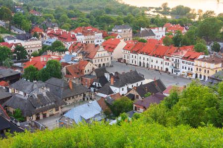 kazimierz dolny: aerial view, Kazimierz Dolny, Poland