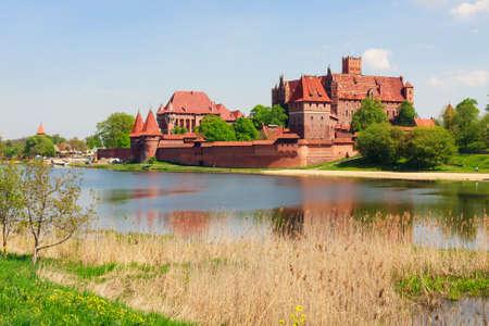 ポーランドのポメラニア地方、マルボルク城