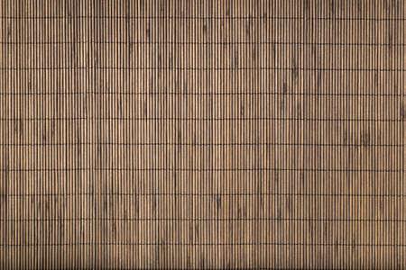 Bamboo mat background. photo