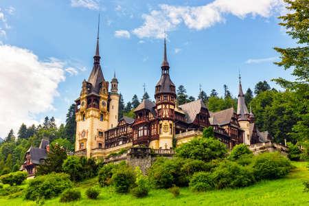 Peles castle, Sinaia, Romania  Editorial