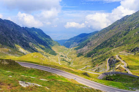 Transfagarasan mountain road, Romanian Carpathians photo