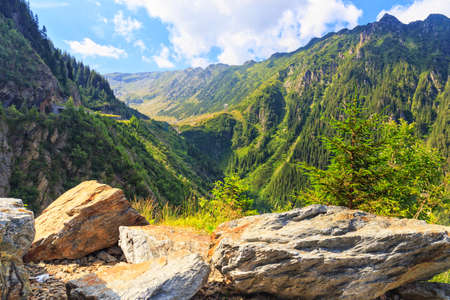 fagaras: View of the Fagaras mountains in Romania