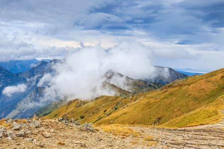 Red Peaks in Tatra Mountains, Poland  photo
