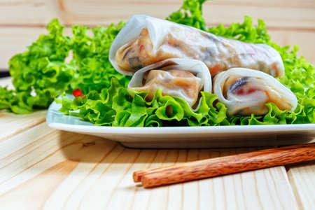 spring rolls Zdjęcie Seryjne