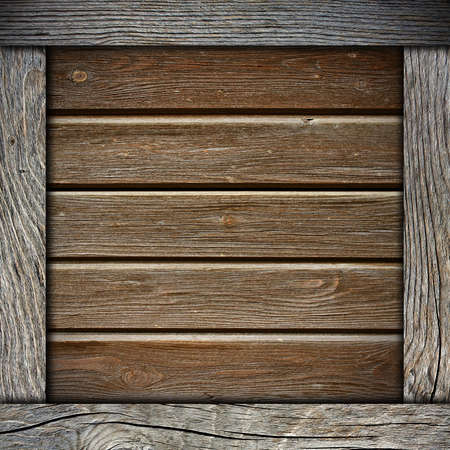 wood wall background with frame photo