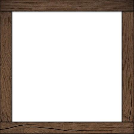wood frame Banco de Imagens