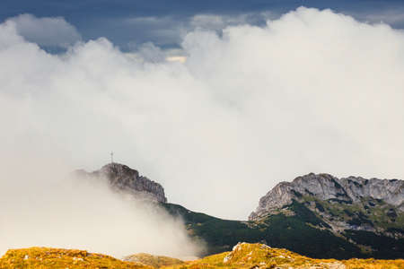 giewont: Giewont, Tatra Mountains landscape