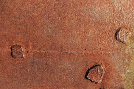 corroded: corroded metal background, texture