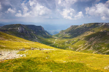 Bucegi mountains, Carpathians,Transylvania,Romania Stock Photo