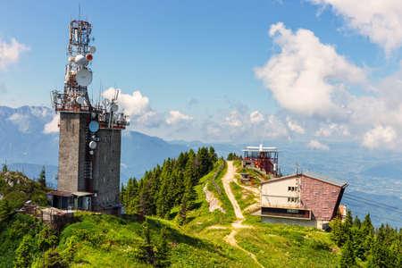 brasov: View from Postavarul Massif, Poiana Brasov, Romania