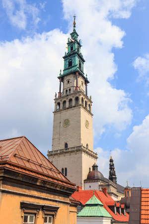 arrepentimiento: santuario de Jasna Gora en Czestochowa, Polonia. Muy importante y más popular lugar pilgrimary en Polonia