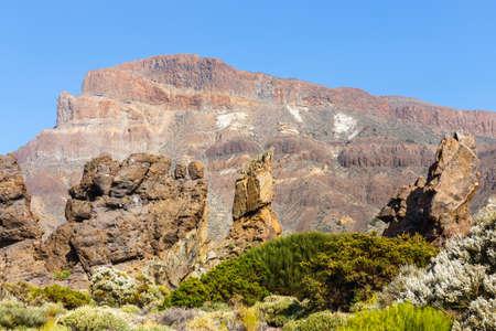 garcia: Roques de Garcia, Teide National Park, Tenerife, Canary Islands, Spain