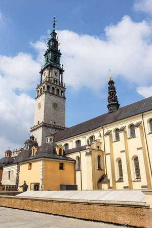 czestochowa: Jasna Gora sanctuary in Czestochowa, Poland. Very important and most popular pilgrimary place in Poland