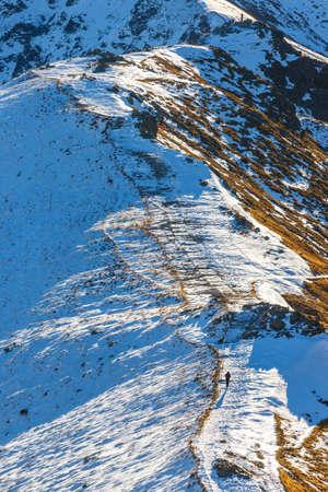 giewont: autumn mountain landscape, Red Peaks, Tatras Mountain Stock Photo