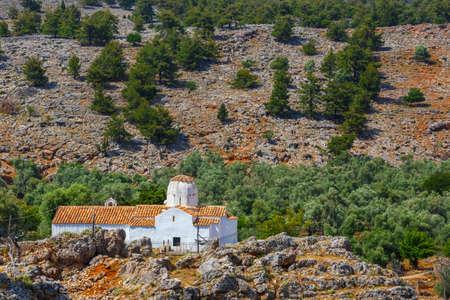 archangel: Church of Archangel Michael over Aradena George in Aradena, Crete