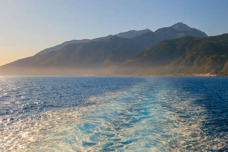 south coast: south coast of Crete near Agia Roumeli, Greece
