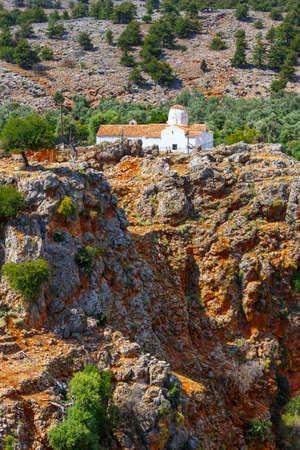Church of Archangel Michael over Aradena George in Aradena, Crete