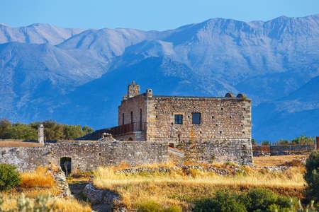 theologian: Ancient Aptera on Crete island. Greece
