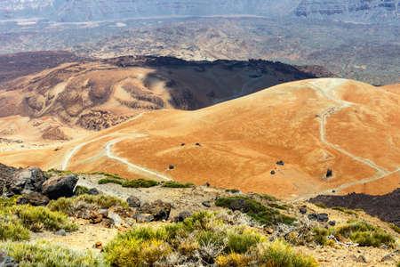 Montana Blanca, Teide National Park, Tenerife, Canary Islands, Spain