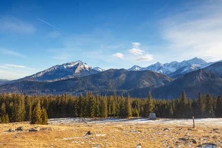 tatry: mountain landscape, Tatry, Poland