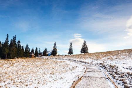 giewont: mountain landscape, Tatry, Poland