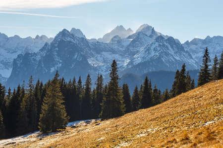 frightful: mountain landscape, Tatry, Poland