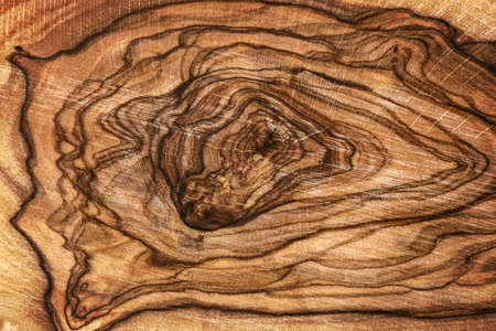 Close up of olive wood