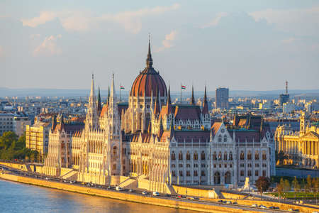 hungarian: Hungarian Parliament Building in Budapest