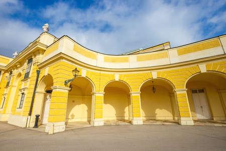schoenbrunn: Schonbrunn Palace in Vienna, former imperial summer residence, Austria