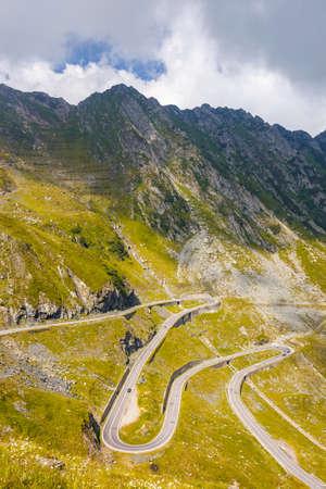 transfagarasan: Transfagarasan mountain road, Romanian Carpathians