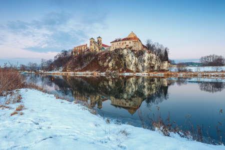 benedictine: Benedictine monastery in Tyniec near Krakow, Poland