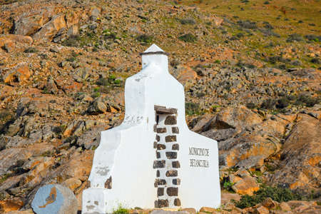 Mirador in the mountains of Betancuria in the southern part of the Canary island Fuerteventura, Spain
